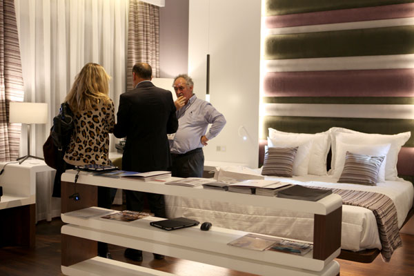 showroom de productos interiorismo hotelero